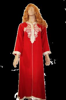 caftan-rouge