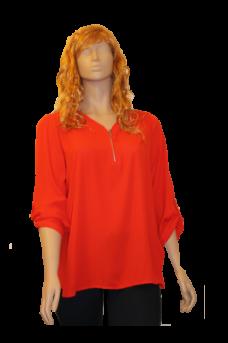 chemise-orange