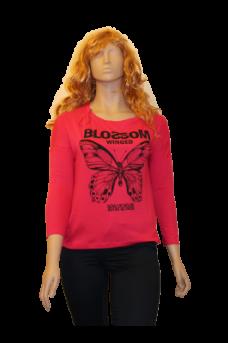 t-shirt-papillon-manches-longues